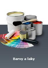 Špina a synové - parfémy, drogerie, papírnictví, barvy, laky - Barvy Laky